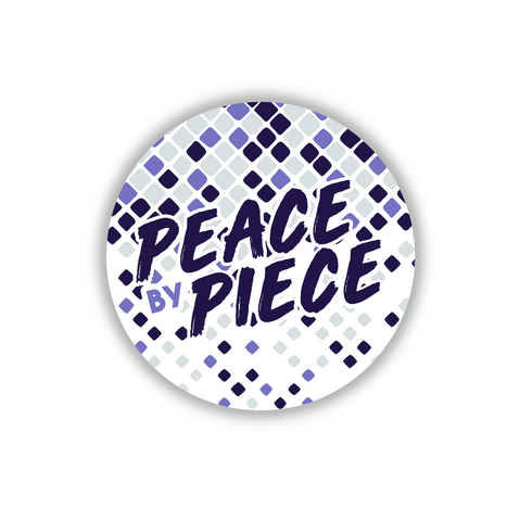 Peace by Piece Sticker