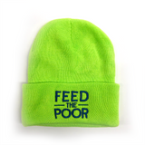 Feed the Poor Beanie