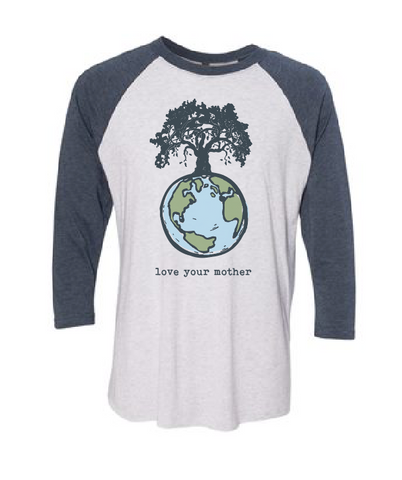 Love Your Mother Raglan