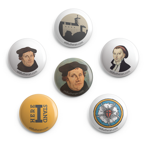 Luther Button Pack