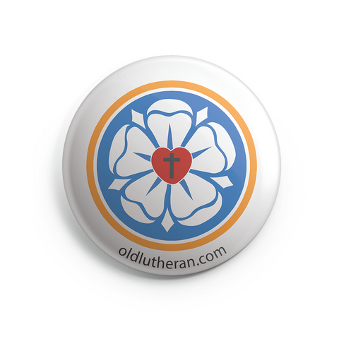 Luther Rose Button Magnet