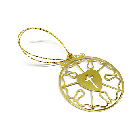 2019 Gold Luther Rose Ornament