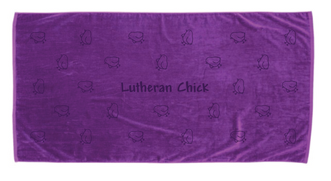 Lutheran Chick Towel