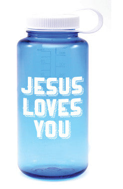 Jesus Loves You Nalgene (Large mouth)
