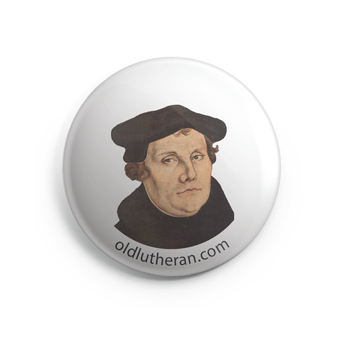 Martin Luther Button - 1 inch