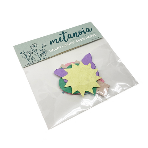 Metanoia Wildflower Seed Paper