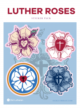 Luther Roses Sticker Set