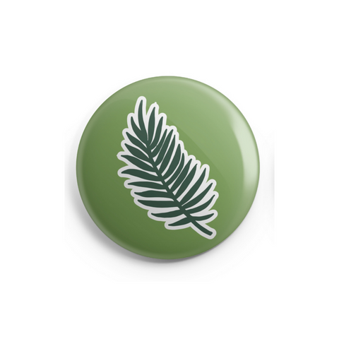 Palm Sunday Button - 1 Inch