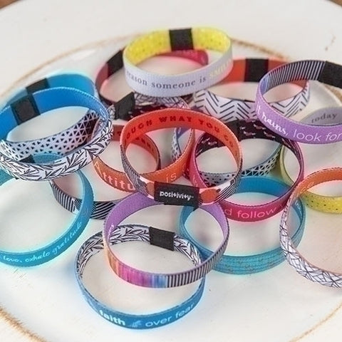 Positivity Flip Bracelets (Pack of 3)