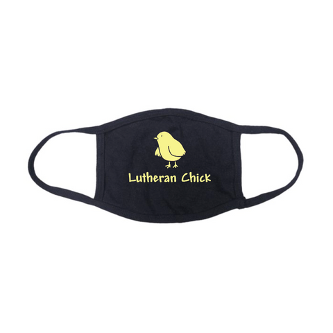 Lutheran Chick Face Mask