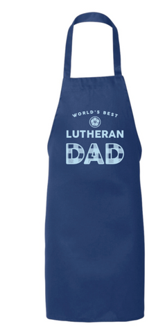World's Best Lutheran Dad Apron