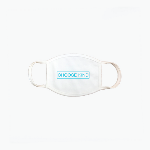 Choose Kind white face mask - adult face mask