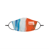 Choose Kind Striped Adult Face Mask. Lutheran Face Mask.