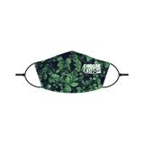 Choose Kind Adult Face Mask with picture of leaves. Lutheran Face Mask.