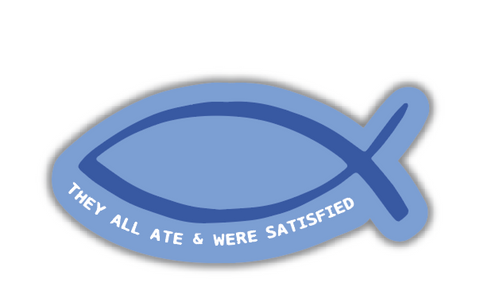 Ichthus Fish Sticker