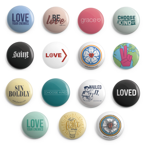 Buttons - Variety Pack
