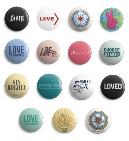 Button Magnets - Variety Pack