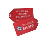 Old Lutheran Baggage Tag