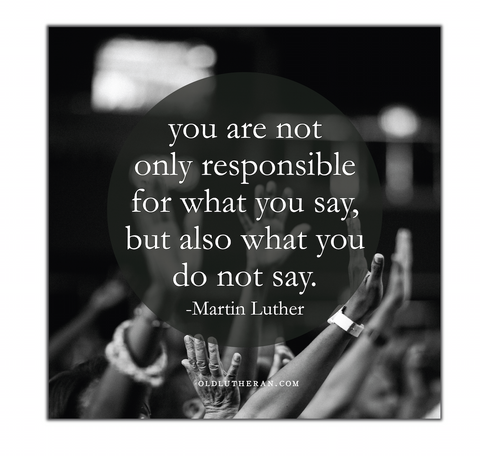 "Responsible Quote 20"" Canvas"