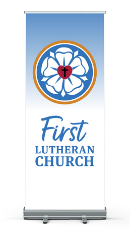 Luther Rose Custom Vertical Banner