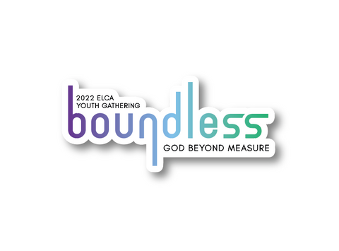 2022 ELCA Youth Gathering boundless Sticker