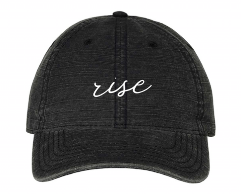 Rise Embroidered Hat