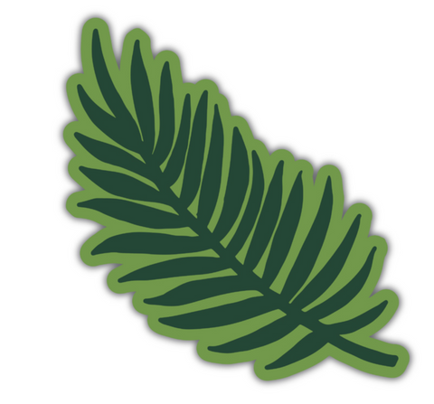 Palm Sunday Sticker