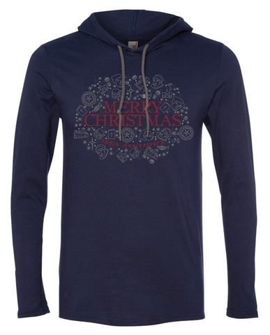 500th Anniversary Christmas Longsleeve Hooded T-shirt