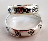 Symbols of Change - Handmade Sterling Silver Ring