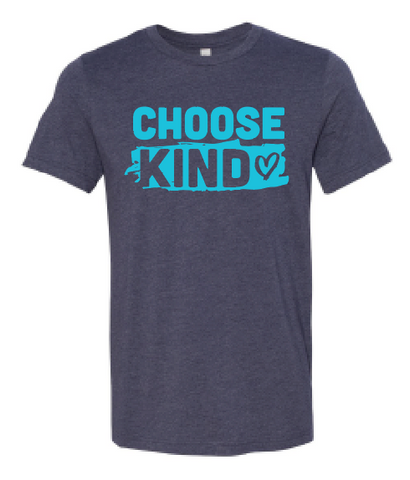 Choose Kind T-Shirt - Heart Design (Multiple Colors)