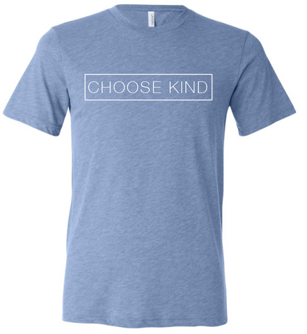 Choose Kind Ladies T-Shirt - Plain Font (Multiple Colors)