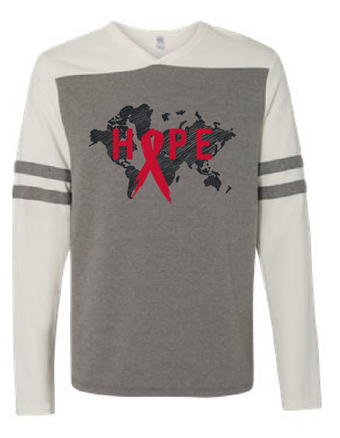 HOPE: World AIDS Prevention Longsleeve Sweatshirt