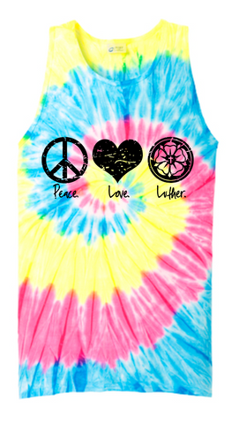 Peace Love Luther Tank Top