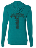 Lutheran Girl Hooded Full Zip Longsleeve