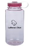 Lutheran Chick Nalgene - Wide Mouth (Multiple Colors)