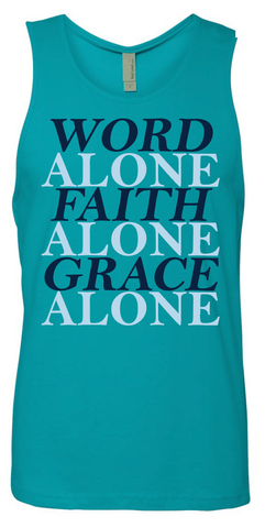 Word Alone Tank Top