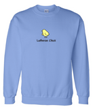 Lutheran Chick Crewneck Sweatshirt (Multiple Colors)