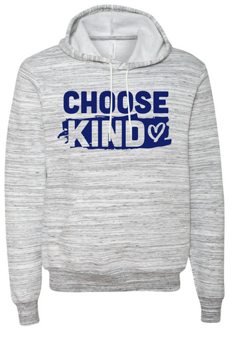 Choose Kind Hooded Sweatshirt (Heart-Design)