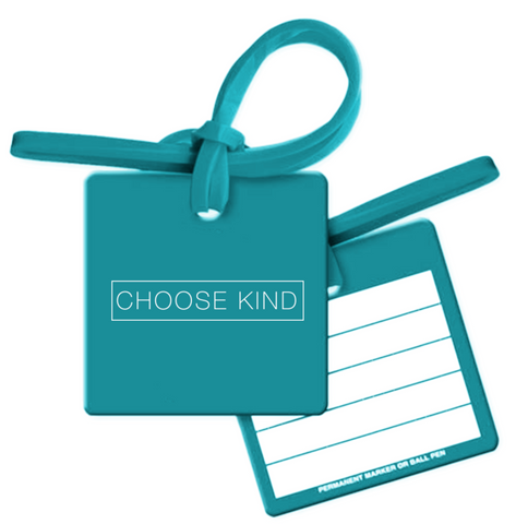 Choose Kind Luggage Tag