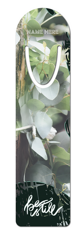 Be Still Custom Bookmark