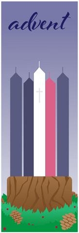Advent Candle Banner