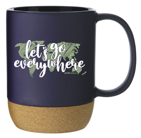 Let's Go Everywhere Stone Mug Preorder