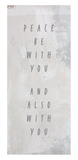 Peace Be With You Banner (Multiple Options)