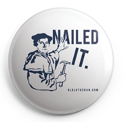 Nailed It Button - 2.25 Inches (Multiple Colors)