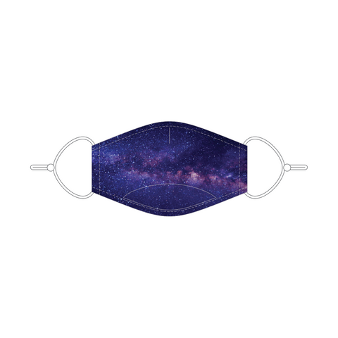 Galaxy Youth Face Mask