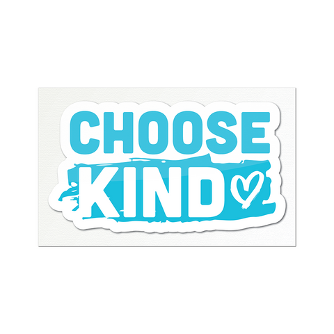 Choose Kind Sticker - Heart Design