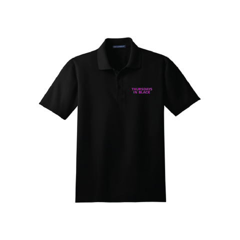 Thursdays In Black Unisex Polo
