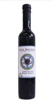 Zin Boldly Chocolate Wine Sauce