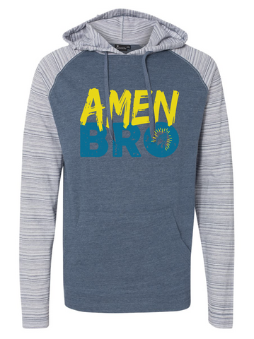 Amen Bro Hooded Pullover