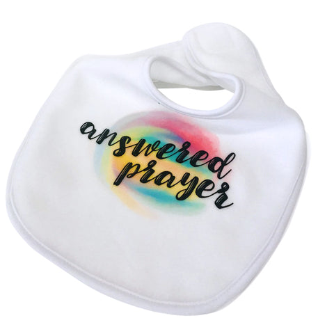 Answered Prayer Baby Bib